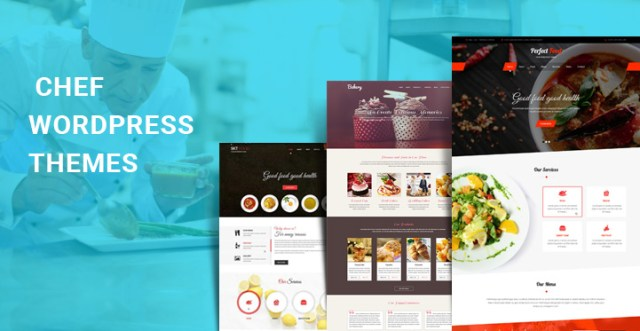 chef WordPress themes