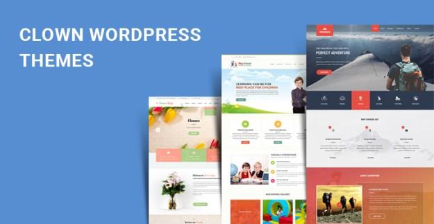 clown WordPress themes