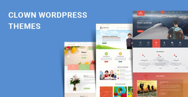 clown WordPress themes