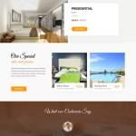 bed and breakfast WordPress theme