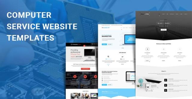 computer service WordPress themes