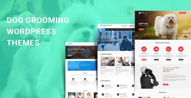 dog grooming WordPress themes