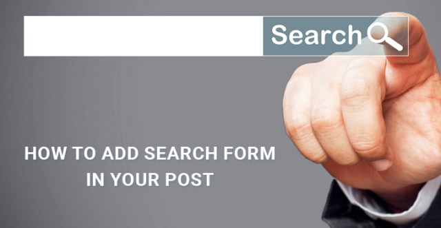How-to-Add-Search-Form-in-your-Post