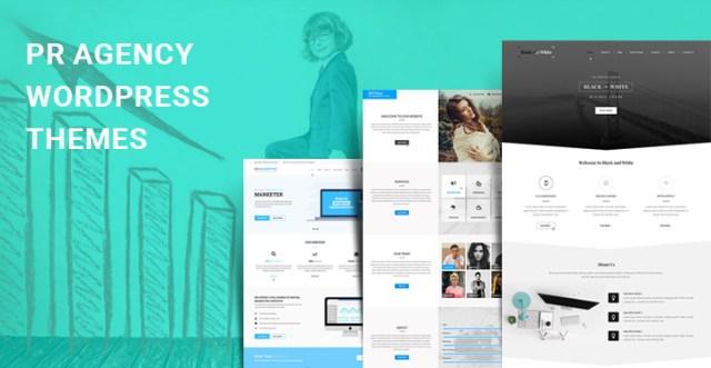 pr agency WordPress themes