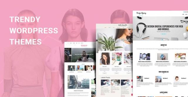 trendy WordPress themes
