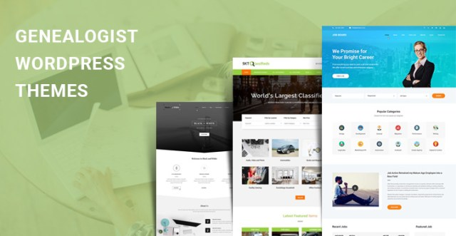 Genealogist WordPress Themes