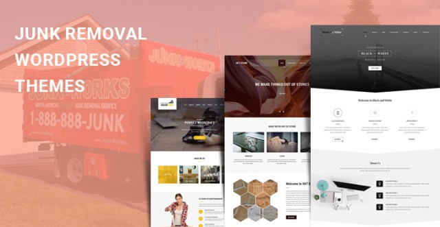 Junk Removal WordPress Themes