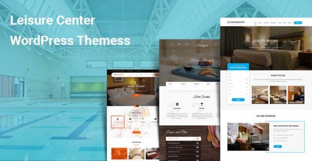 Leisure Center WordPress Themes