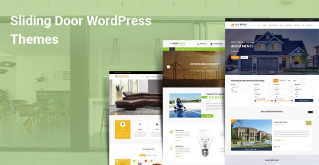 Sliding Door WordPress Themes