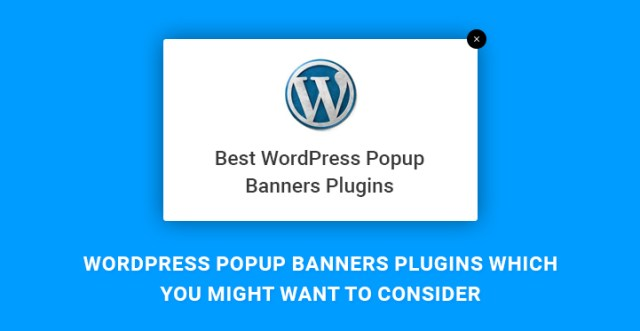 WordPress Popup Banners Plugins