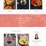 recipe WordPress theme