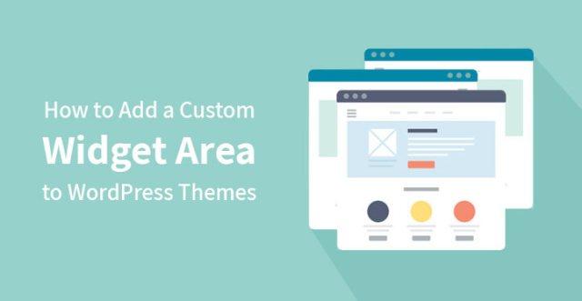 Custom Widget Area to WordPress Themes