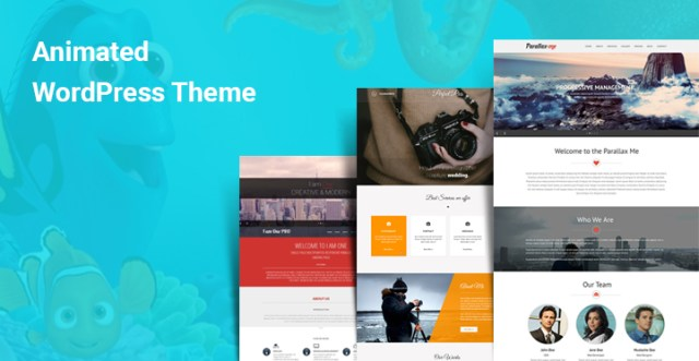 Animated WordPress Themes