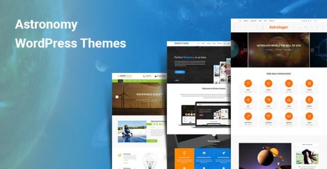 Astronomy WordPress Themes