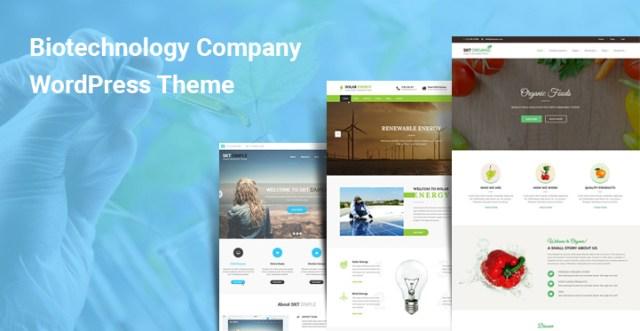 Biotechnology Company WordPress Themes
