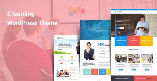 E learning WordPress Themes