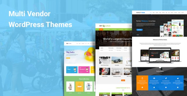 Multi Vendor WordPress Themes