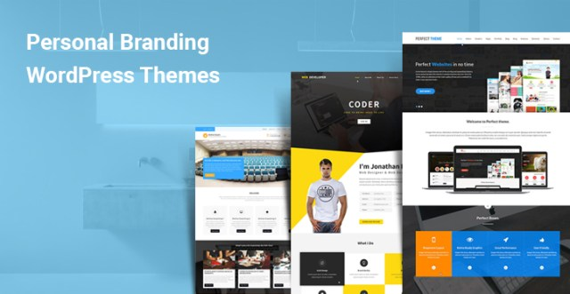 Personal Branding WordPress Themes