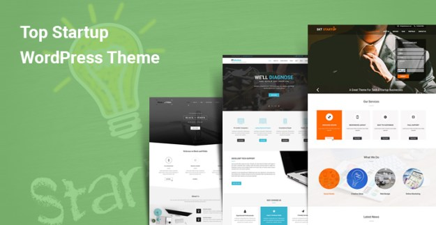 Top Startup WordPress Themes