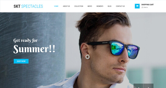 Eye Care wordpress theme