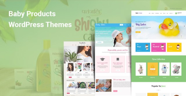 baby products wordpress themes