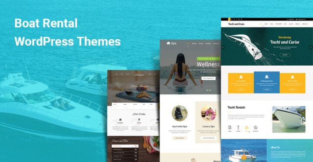 boat rental wordpress themes