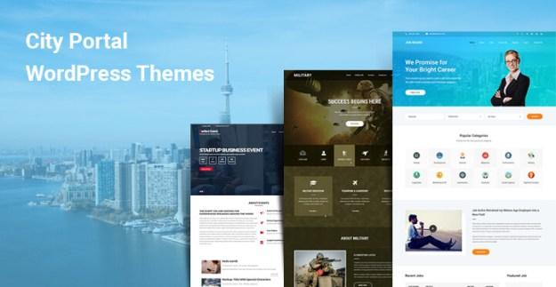 city portal wordpress themes
