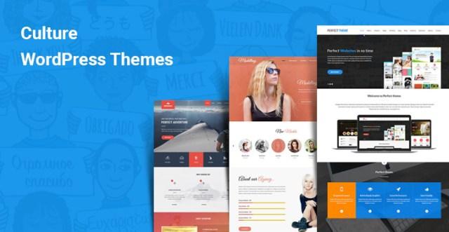 culture wordpress themes