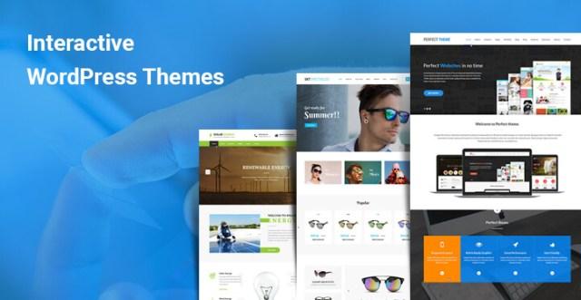 interactive wordpress themes