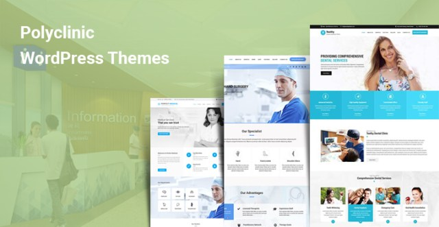 polyclinic WordPress themes