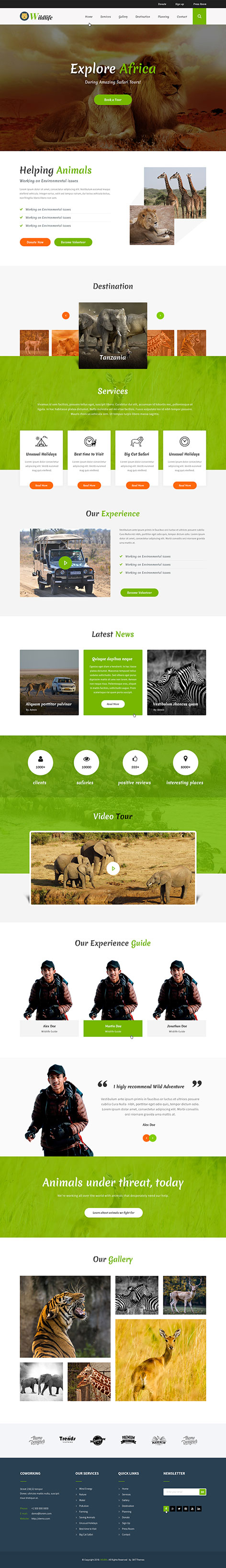 zoo WordPress theme