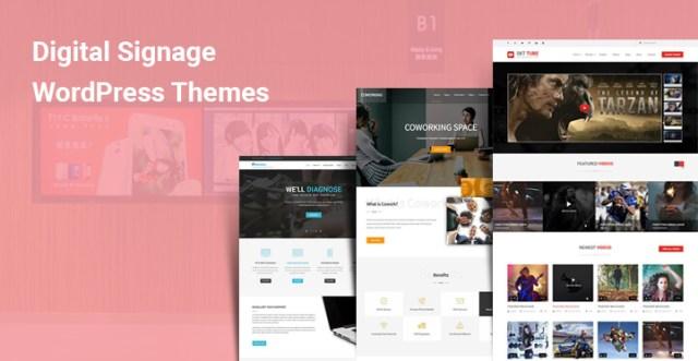 Digital Signage WordPress Themes