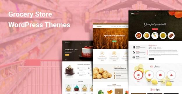Grocery Store WordPress Themes