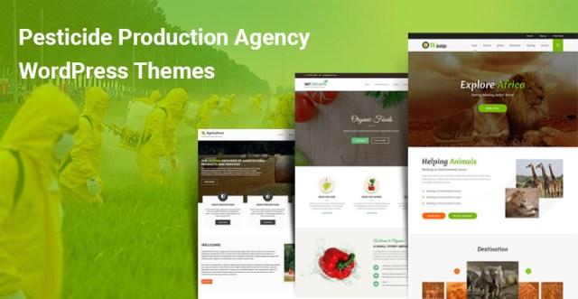 Pesticide Production Agency WordPress Themes