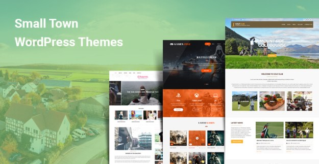 Small Town WordPress Themes