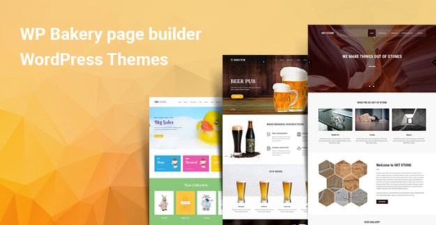WP Bakery page builder WordPress