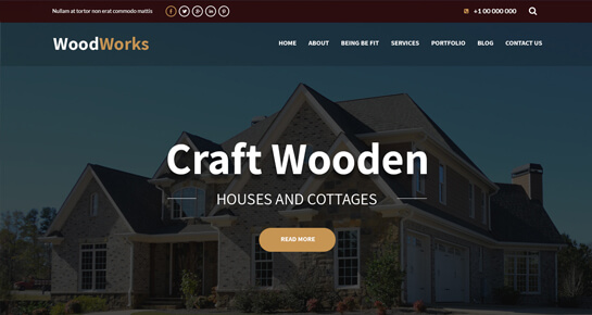 WoodWorks WordPress themes