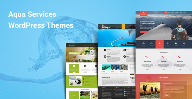 Aqua Services WordPress themes