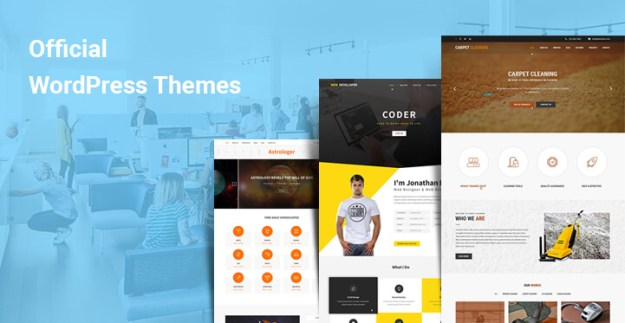Official WordPress themes