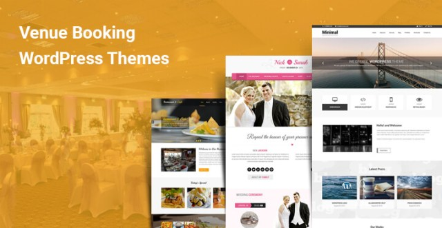 Venue Booking WordPress themes