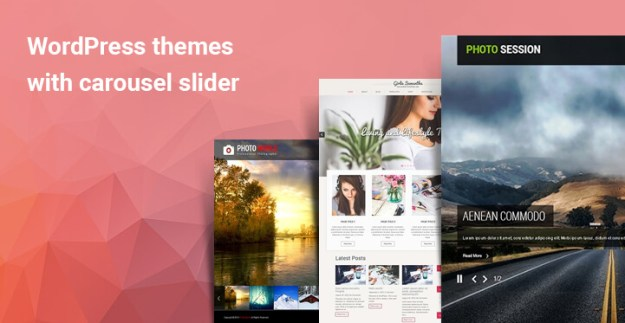 WordPress themes with carousel