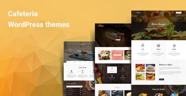 Cafeteria WordPress themes