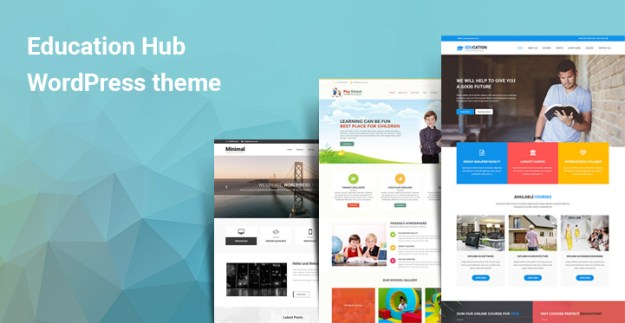 Education hub WordPress themes