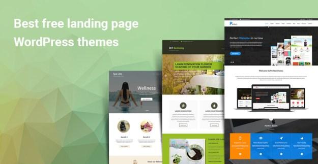 Best free landing page WordPress