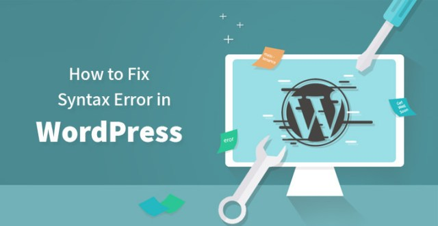 How to Fix Syntax Error in WordPress