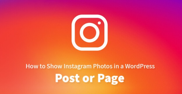 How to Show Instagram Photos in a WordPress Post or Page