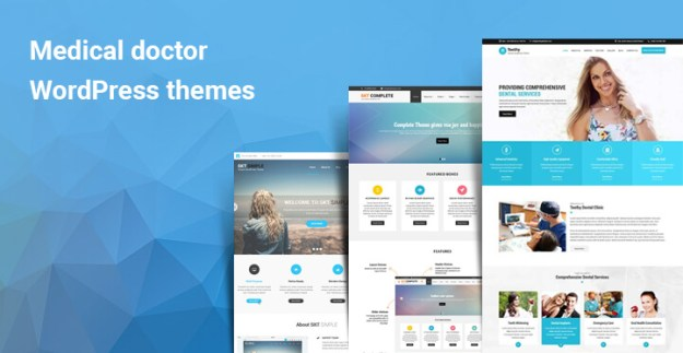 Medical doctor WordPress themes