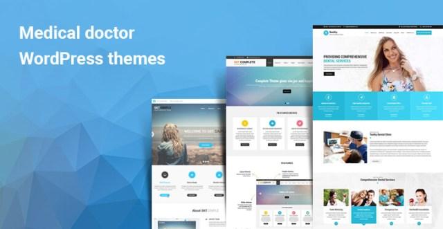 Medical doctor WordPress themes