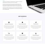 free software company WordPress theme