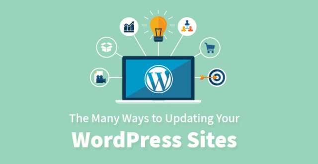 The Many Ways to Updating Your WordPress Sites